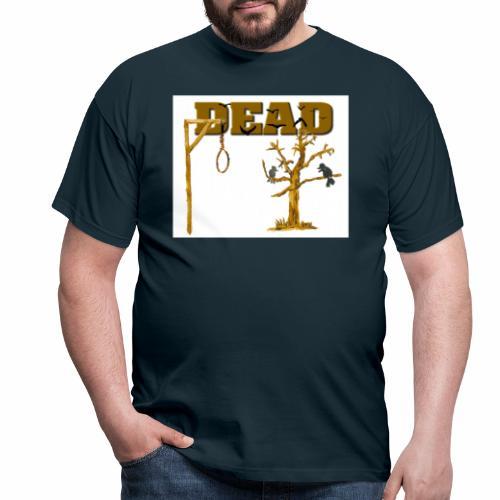 Tod am Galgen - Männer T-Shirt