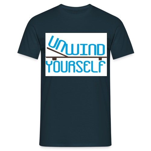 unwind yourself - Männer T-Shirt