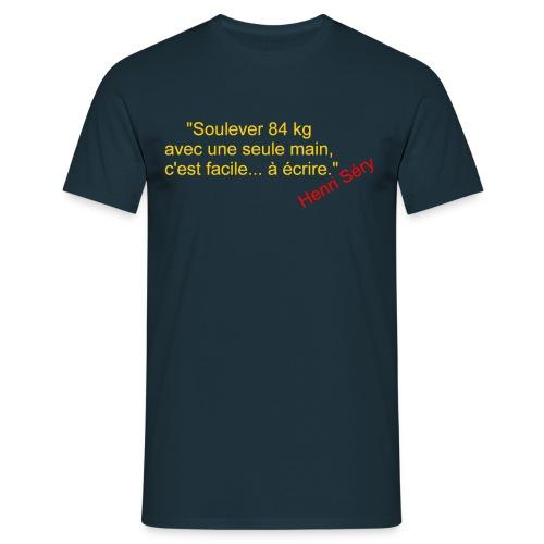 La Méthode Française humour 2 recto - T-shirt Homme