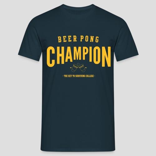 Beerpong Champion T-Shirt - Männer T-Shirt