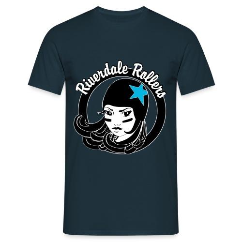 logo_reunalla_eitaustaa - Miesten t-paita