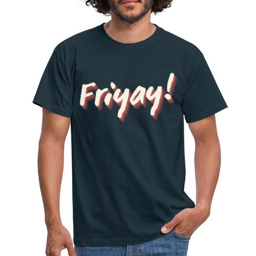 Friyay - T-skjorte for menn
