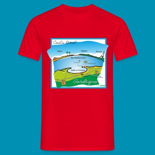 Costa Ovest png - Maglietta da uomo