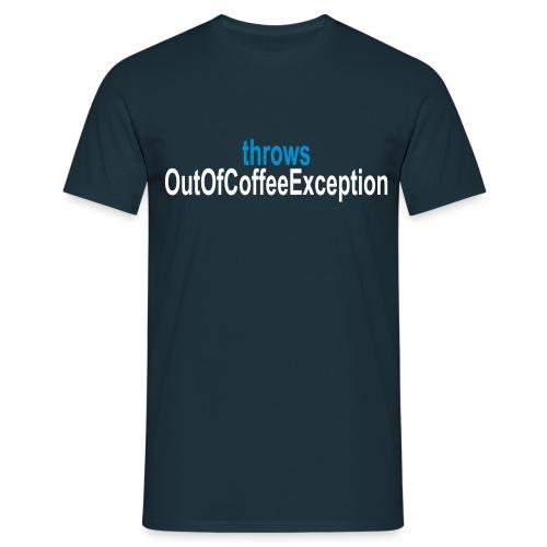 Java Kaffee - Männer T-Shirt