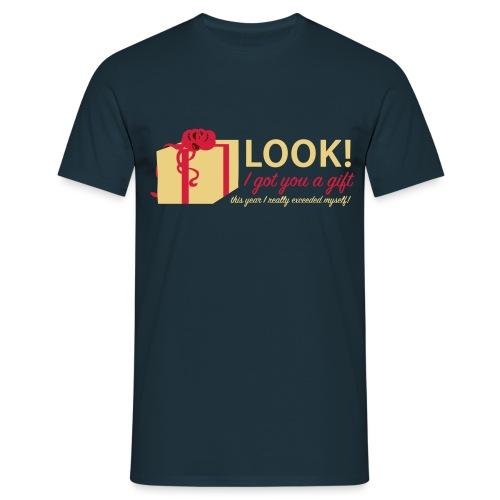Täydellinen lahja - Miesten t-paita