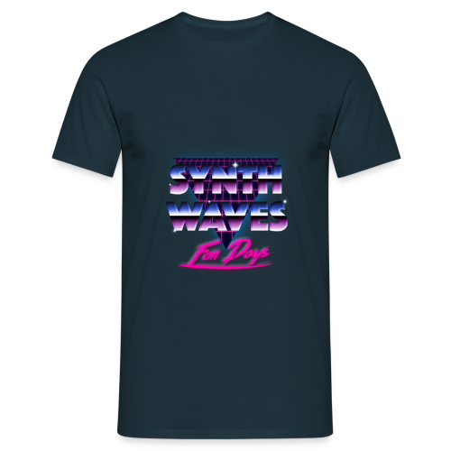 Synthwaves For Days - Mannen T-shirt