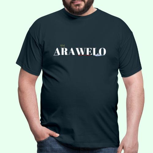 The ARAWELO Collection Gold Crown - Men's T-Shirt