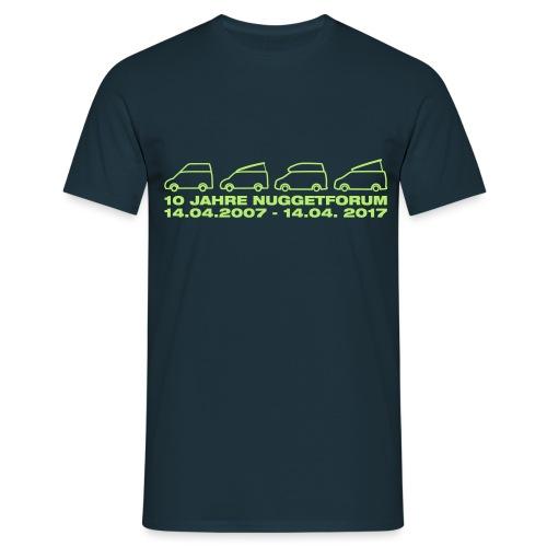 10_Jahre_Nuggetforum - Männer T-Shirt