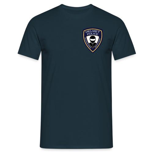 HELMET POLICE AT LAZYROLLING - Men's T-Shirt
