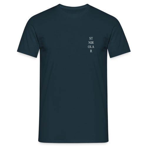 St Nirolar LOGO WIT - Mannen T-shirt