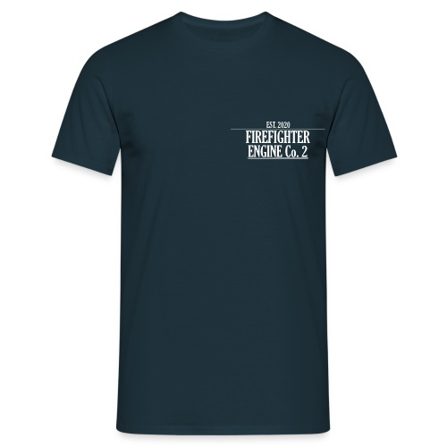 Firefighter ENGINE Co 2 - Herre-T-shirt