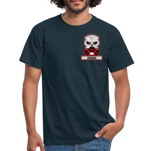 Casual-Gaming-Logo - Männer T-Shirt