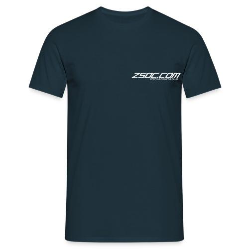 ZSOC White Logo - Men's T-Shirt