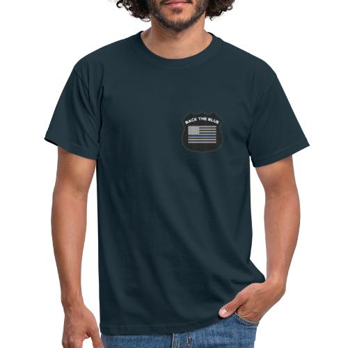 Back the Blue - Support the Police - T-shirt herr