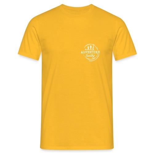 Adventure Scilly Logo Whi - Men's T-Shirt