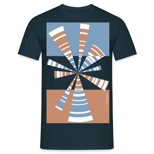 d shapes radio duskmood - Maglietta da uomo