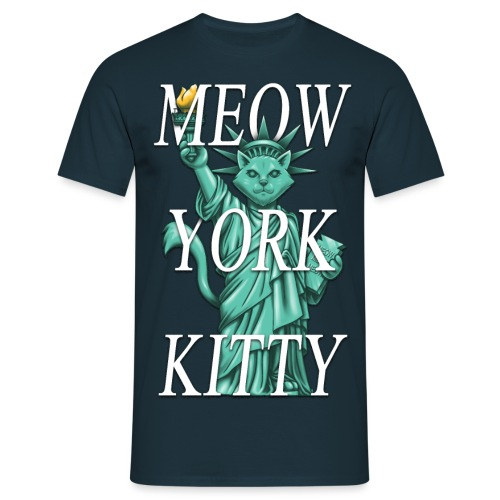 Meow York Kitty - Men's T-Shirt