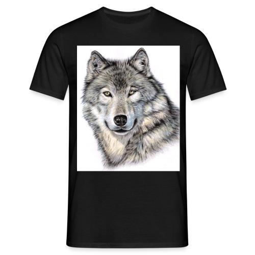 Der Wolf - Männer T-Shirt