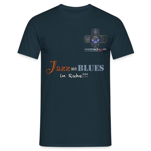 jazz mich blues png - Männer T-Shirt