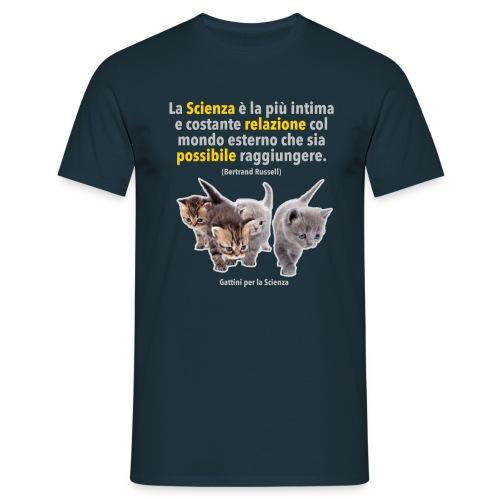 Gattini Bertrand Russell - Maglietta da uomo
