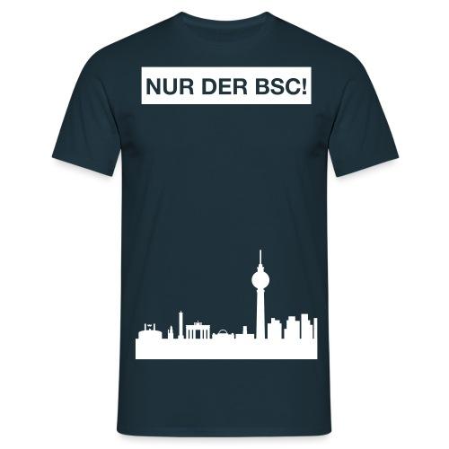 nurderbsc_claim_skyline - Männer T-Shirt