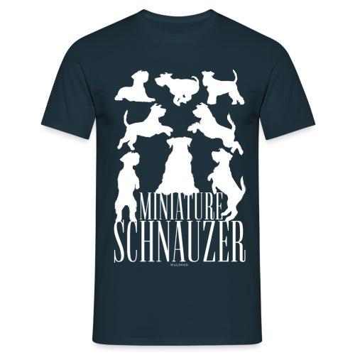 Miniature Schnauzer - Miesten t-paita