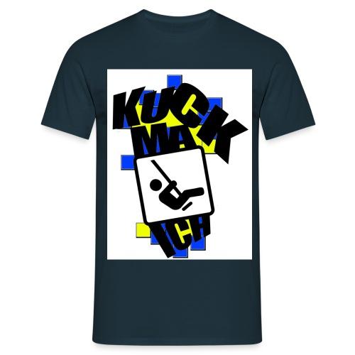 KMI DESIGNZ Blue Yellow - Männer T-Shirt
