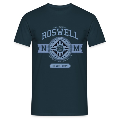 THE FAMOUS ROSWELL NM - Men's T-Shirt