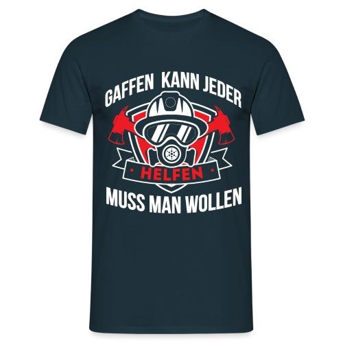 Gaffen Feuerwehr - Männer T-Shirt