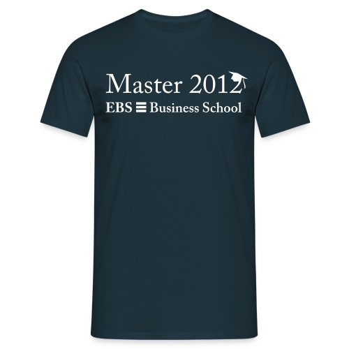 EBS Master 2012 - Männer T-Shirt