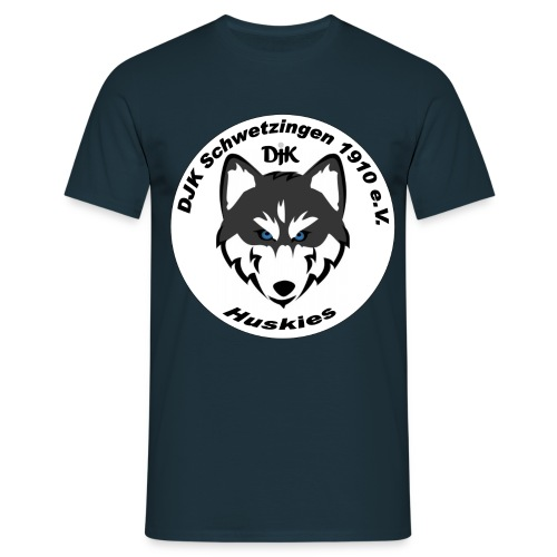 huskie logo - Männer T-Shirt
