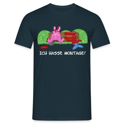 ichhassemontage - Männer T-Shirt