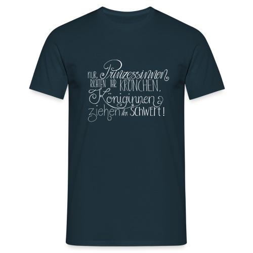 Königin vs. Prinzessin - Männer T-Shirt