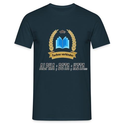 Techno verbindet - Männer T-Shirt