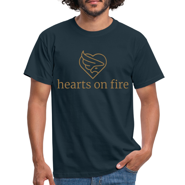 hearts on fire Signature - Männer T-Shirt