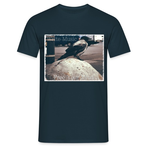 Free Your Mind (White) - Men's T-Shirt