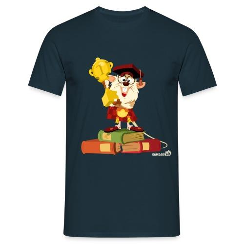 prof mouse - Men's T-Shirt
