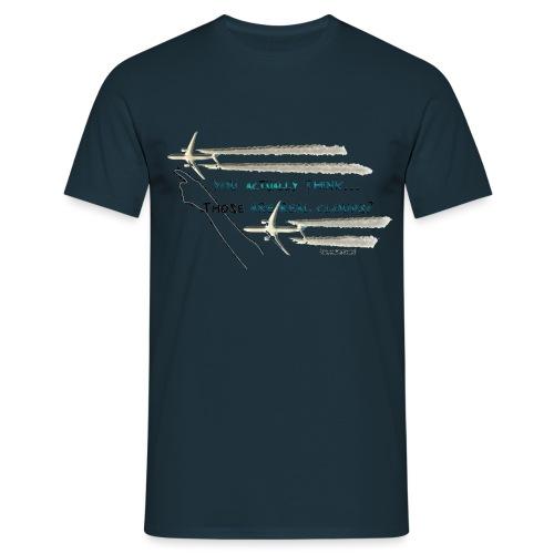 Skywatcher 02 - Mannen T-shirt