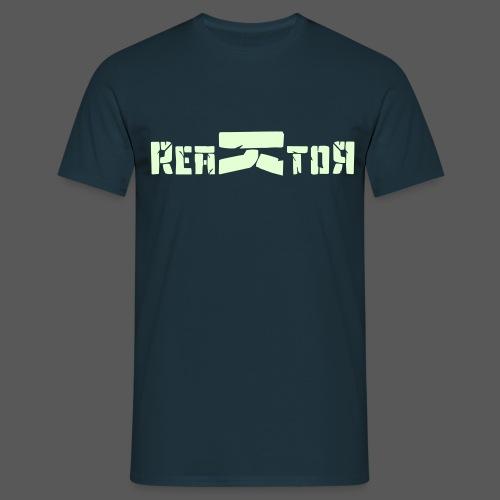 ReaKtoR Bandlogo - Männer T-Shirt