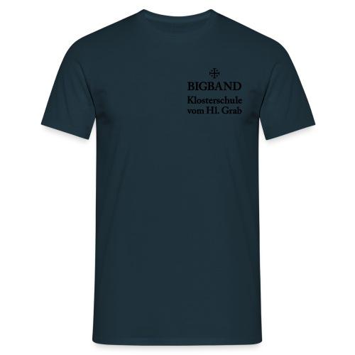 bigband shirt front - Männer T-Shirt