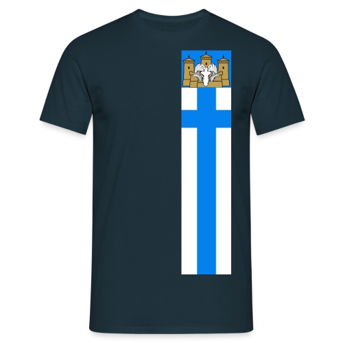 linnanpässi viiri - Miesten t-paita