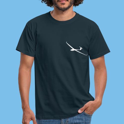 Segelflugzeug gleiten Segelflieger pilot Flugzeug - Männer T-Shirt