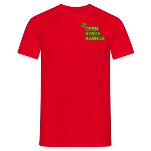 osaa logo neon rgb - Herre-T-shirt