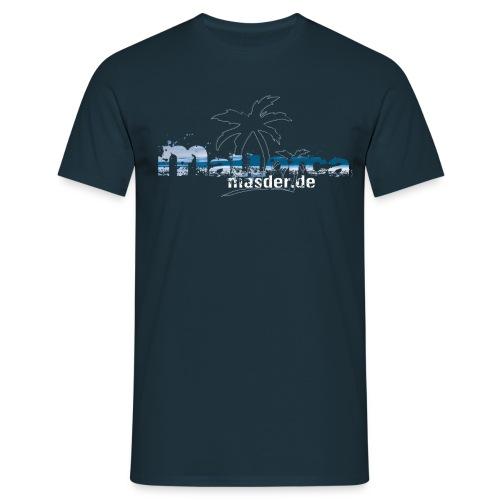 Masder Malle blau neu png - Männer T-Shirt