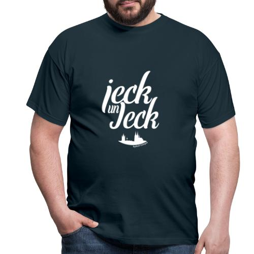 jeck un Jeck - Weiß - Männer T-Shirt