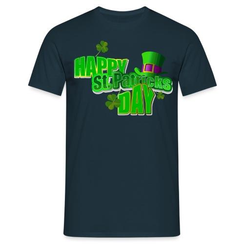 StPatricksDayHappy - T-shirt Homme