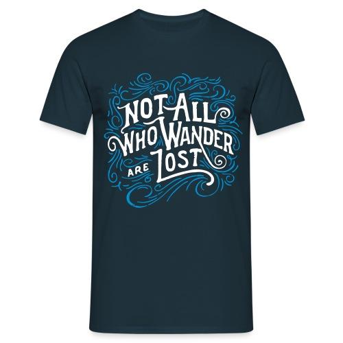 wander2 - Men's T-Shirt