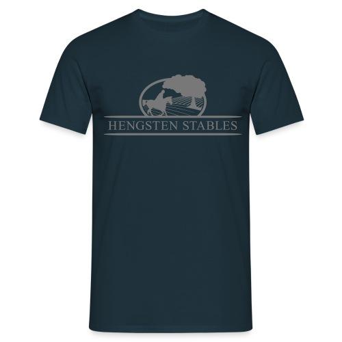 Logo grau - Männer T-Shirt