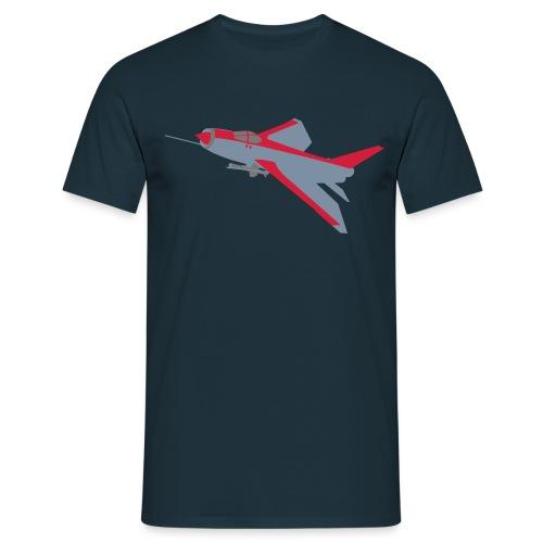 Lightning - nolines 3 col - Men's T-Shirt