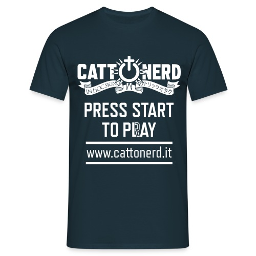CattOnerD Press Start - Maglietta da uomo
